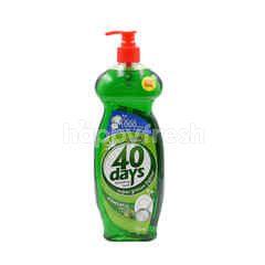 40 Days Dishwash Pandan Lime