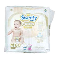 Sweety Pantz Gold Crawler Size M Baby Diapers (60 pieces)