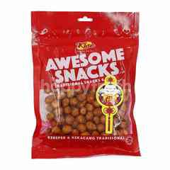 Kise Awesome Traditional Snacks & Nuts Curry Sesame Nuts