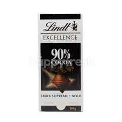 Lindt Excellence Excellence Cokelat 90% Kakao