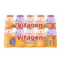 VITAGEN Assorted Cultured Milk Drink Less Sugar 625ml Twinpack