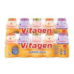 VITAGEN Assorted Cultured Milk Drink Less Sugar 625ml Twinpack