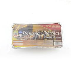 D'GATEAUX Banana Chocolate Pound Cake
