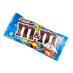 เอ็มแอนด์เอ็ม ช็อกโกแลตนม ไส้ข้าวพองเคลือบน้ำตาลสีต่างๆ
