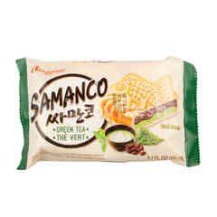 Samanco Green Tea Flavoured Ice Cream