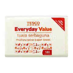 Tesco Everyday Value Multipurpose Paper Towel (180 Sheets)