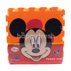 Sun Ta Toys Mickey Mouse & Friends Puzzle Mat (10 Pieces)
