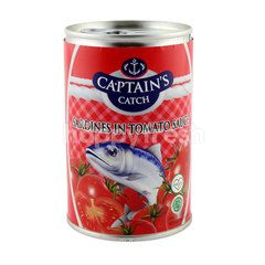 Captain's Catch Sardines in Tomato Sauce