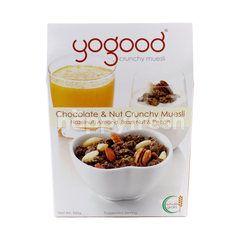 Yogood Chocolate And Nut Crunchy Muesli