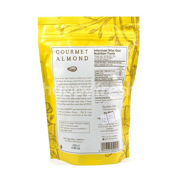 Nutify Honey & Sesame Gourment Almond