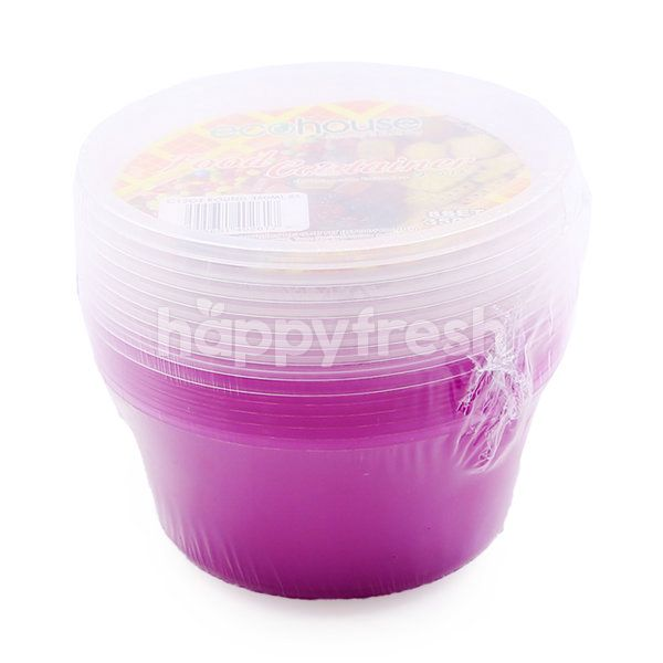 Eco House Round Food Container (8 Pieces)