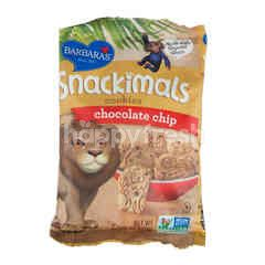 Barbara's Snackimals Cookies Chocolate Chips