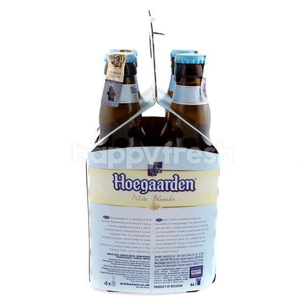 Hoegaarden White Blanche Beer (4 x 330ml)