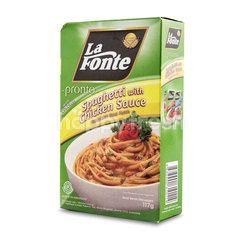 La Fonte Pronto Spaghetti with Chicken Sauce
