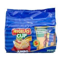 Migelas Protevit Beef Meatball Instant Soup Noodles