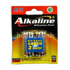 ABC Alkaline Battery LR03