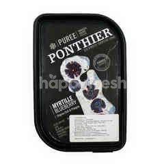 Ponthier Myrtille Puree Bluberi
