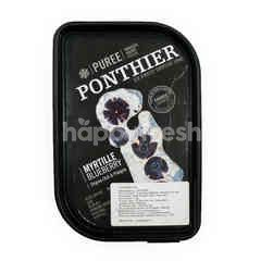 Ponthier Myrtille Blueberry Puree