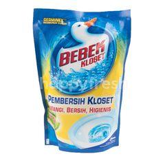 Bebek Pembersih Kloset Wangi Lemon, Bersih, Higienis