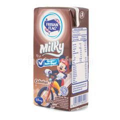 Frisian Flag Milky Susu UHT Rasa Cokelat
