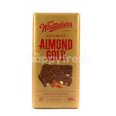 Whittaker's 33% Cocoa Almond Gold Chocolate
