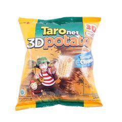 Taro Net 3D Potato Tornado Cheese Flavor
