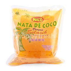 Inaco Nata De Coco dengan Selasih