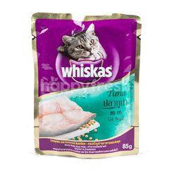 Whiskas Makanan Kucing Rasa Ikan Tuna