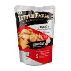 ลิตเติ้ลฟาร์ม ขนมปังหน้ากระเทียม อบกรอบ