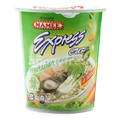 Mamee Express Cup Vegetarian Flavour Noodle