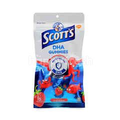 Scott's DHA Gummies - Strawberry Flavour