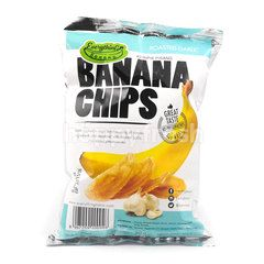 Everything Banana Banana Cips Roasted Garlic