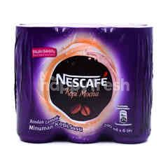 Nescafé Mocha Coffee Drink (6 Cans)