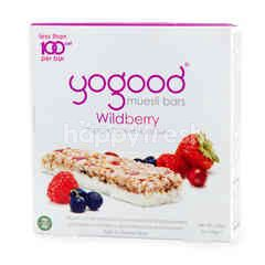Yogood Muesli Bars Wildberry