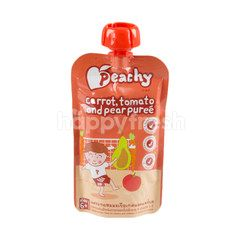 Peachy Baby Food Carrot With Tomato