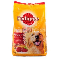 Pedigree Beef and Vegetables Flavored Dog Food