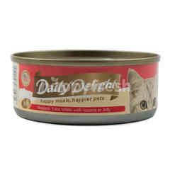 Daily Delight Skipjack Tuna White with Sasami in Jelly Cat Food