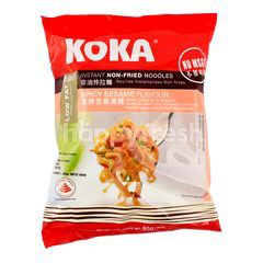 Koka Spicy Sesame Instant Non-Fried Noodles