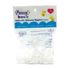 PUREEN BASIC Anticolic Silicone Nipples