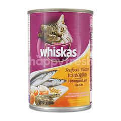 Whiskas Seafood Platter Flavored Adult Cat Food