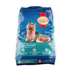 Smart Heart Small Breed Chicken And Liver Flavor Dog Food