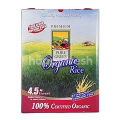 Pure Green Organic Pandan Fragrance White Rice