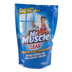 Mr. Muscle Clear Pembersih Kaca Serbaguna Original