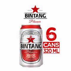 Bintang Pilsener Canned Beer 6 Packs