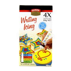 Queen Writing Icing