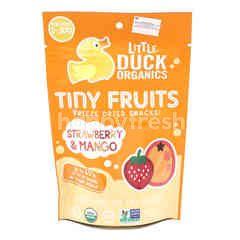 Little Duck Organics Tiny Fruits Freeze Dried Snacks - Strawberry & Mango