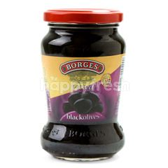Borges Pitted Black Olives