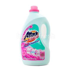 Kao Attack Detergent + Softener 3D Clean Action