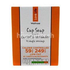 Waitrose Cup Soup Carrot & Coriander