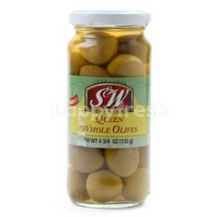 S&W Premium Queen Whole Olives